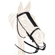 Economy Vaquera Bridle with throat lash